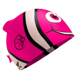 TYR Charactyrs Happy Fish Bathing Cap Children pink